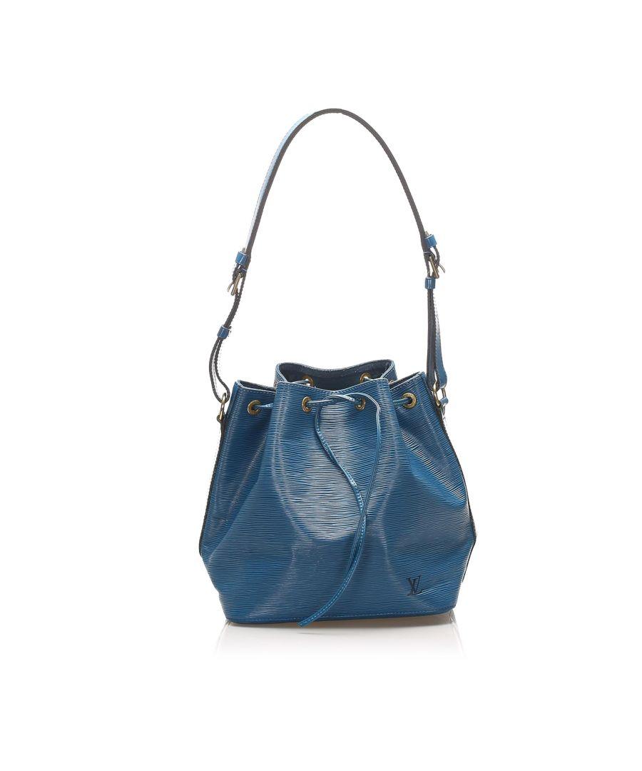 Image for Vintage Louis Vuitton Epi Noe Blue