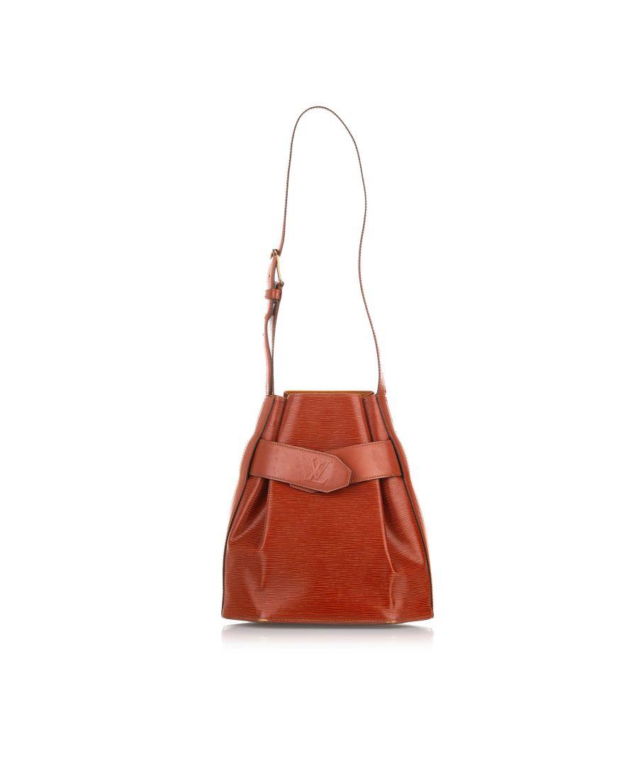 Image for Vintage Louis Vuitton Epi Sac dEpaule Brown