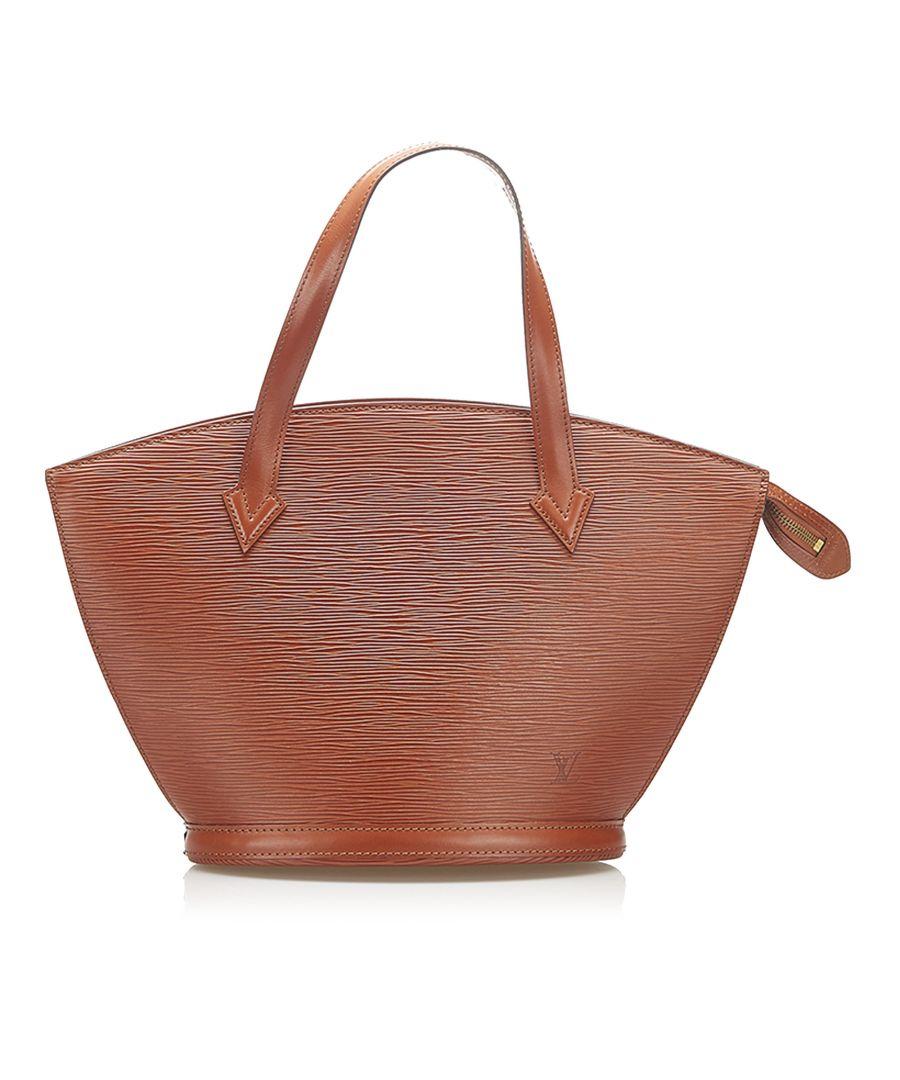 Image for Vintage Louis Vuitton Epi Saint Jacques Short Strap PM Brown