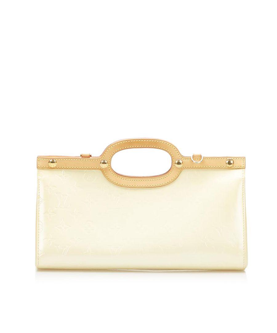 Image for Vintage Louis Vuitton Vernis Roxbury Drive White