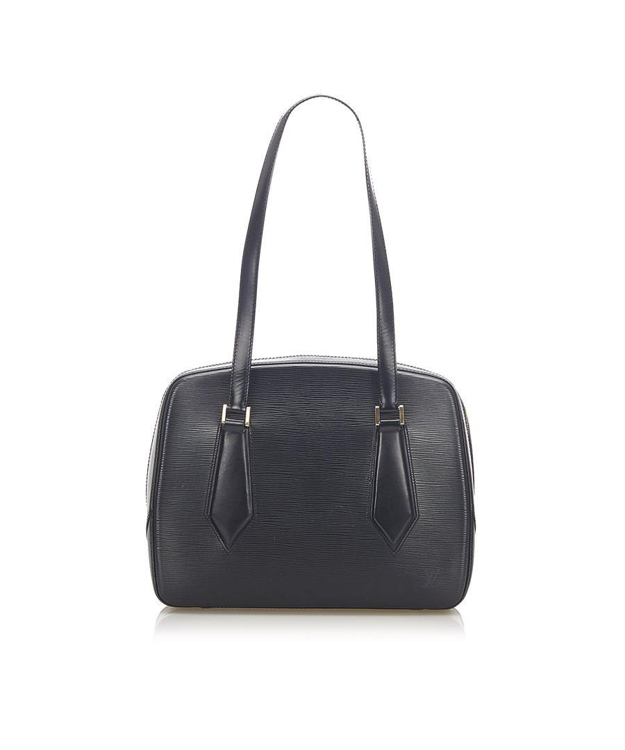 Image for Vintage Louis Vuitton Epi Voltaire Black