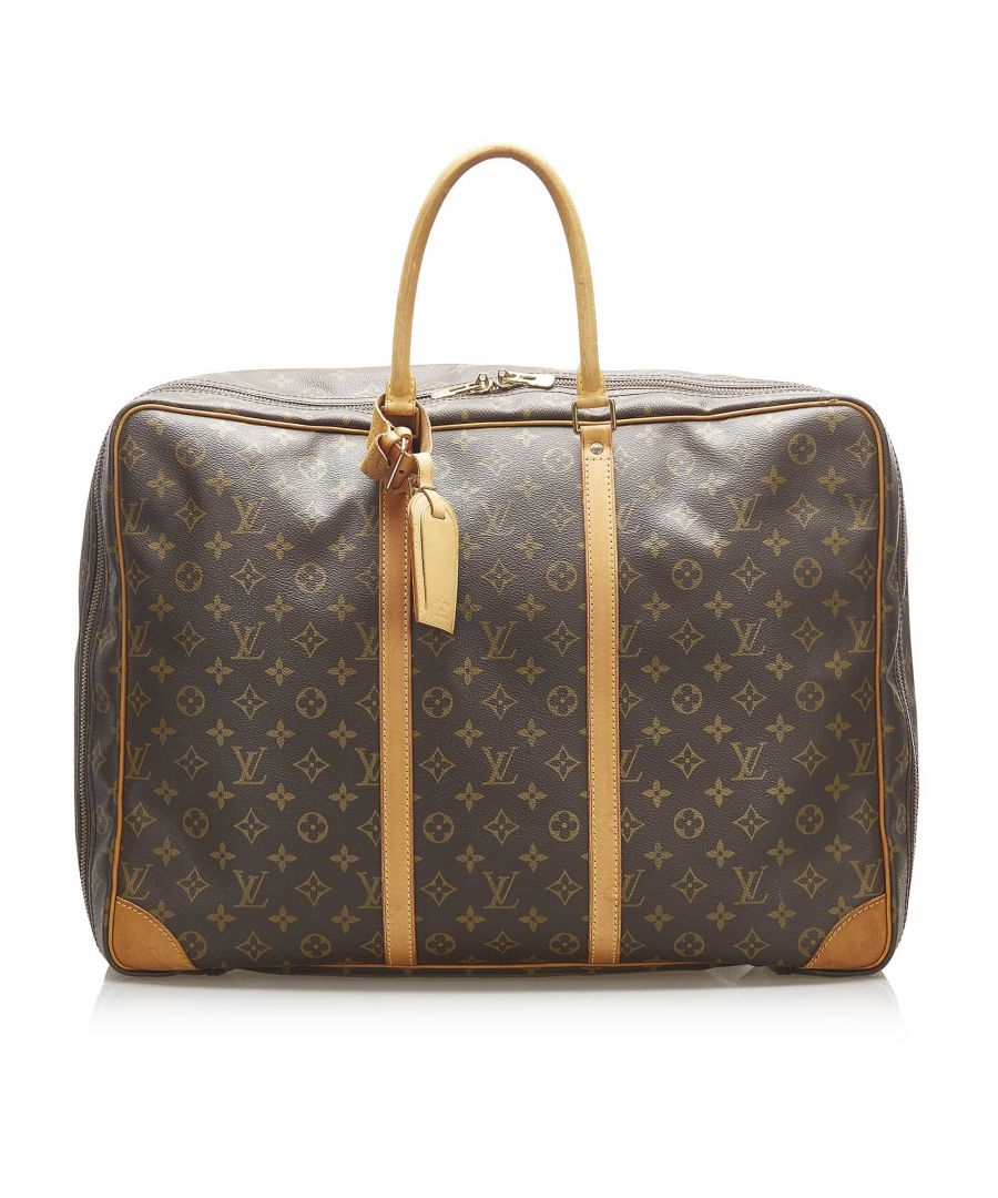 Image for Vintage Louis Vuitton Monogram Sirius 55 Brown