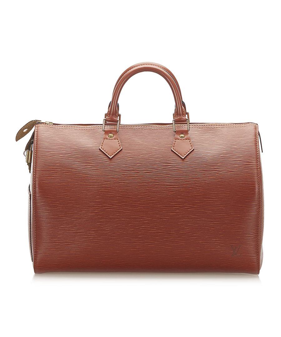 Image for Vintage Louis Vuitton Epi Speedy 40 Brown