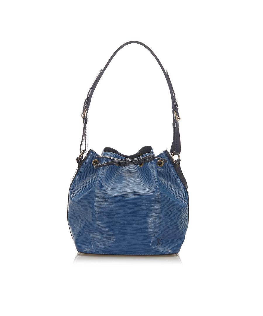 Image for Vintage Louis Vuitton Epi Bicolor Noe Blue