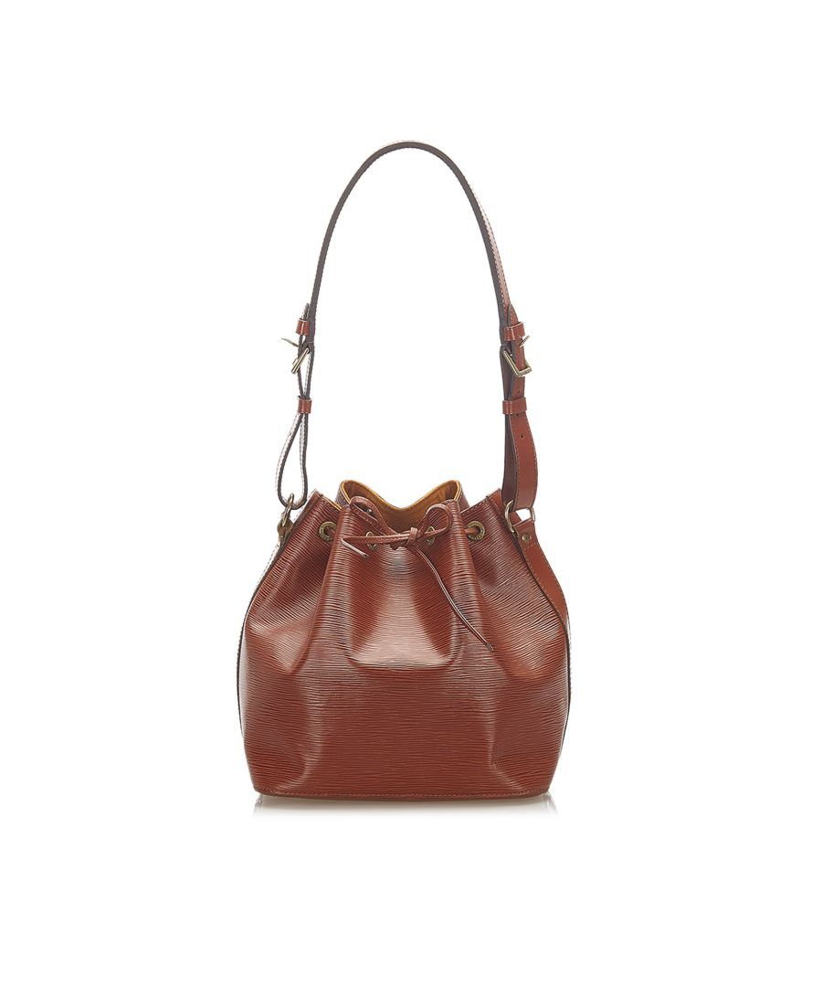Image for Vintage Louis Vuitton Epi Petit Noe Brown