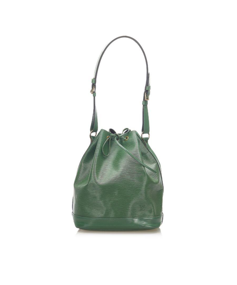 Image for Vintage Louis Vuitton Epi Noe Green