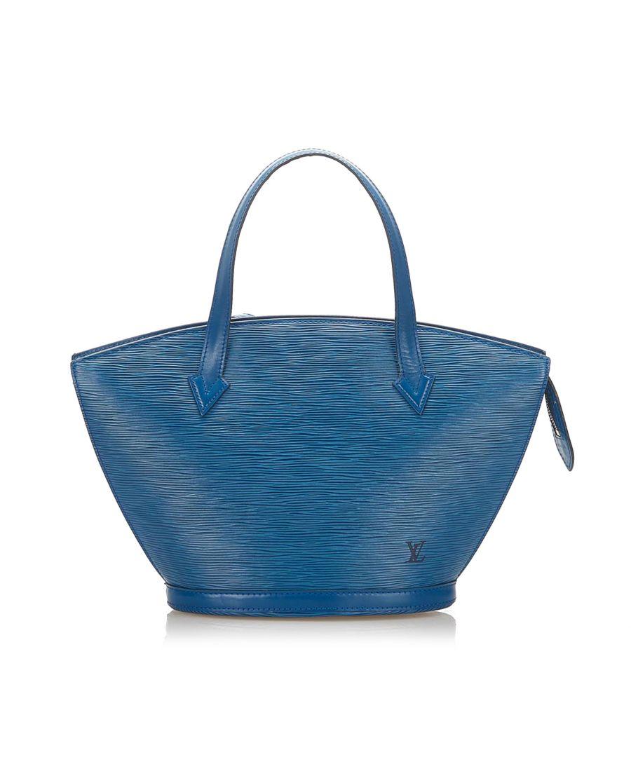 Image for Vintage Louis Vuitton Epi Saint Jacques PM Long Strap Blue