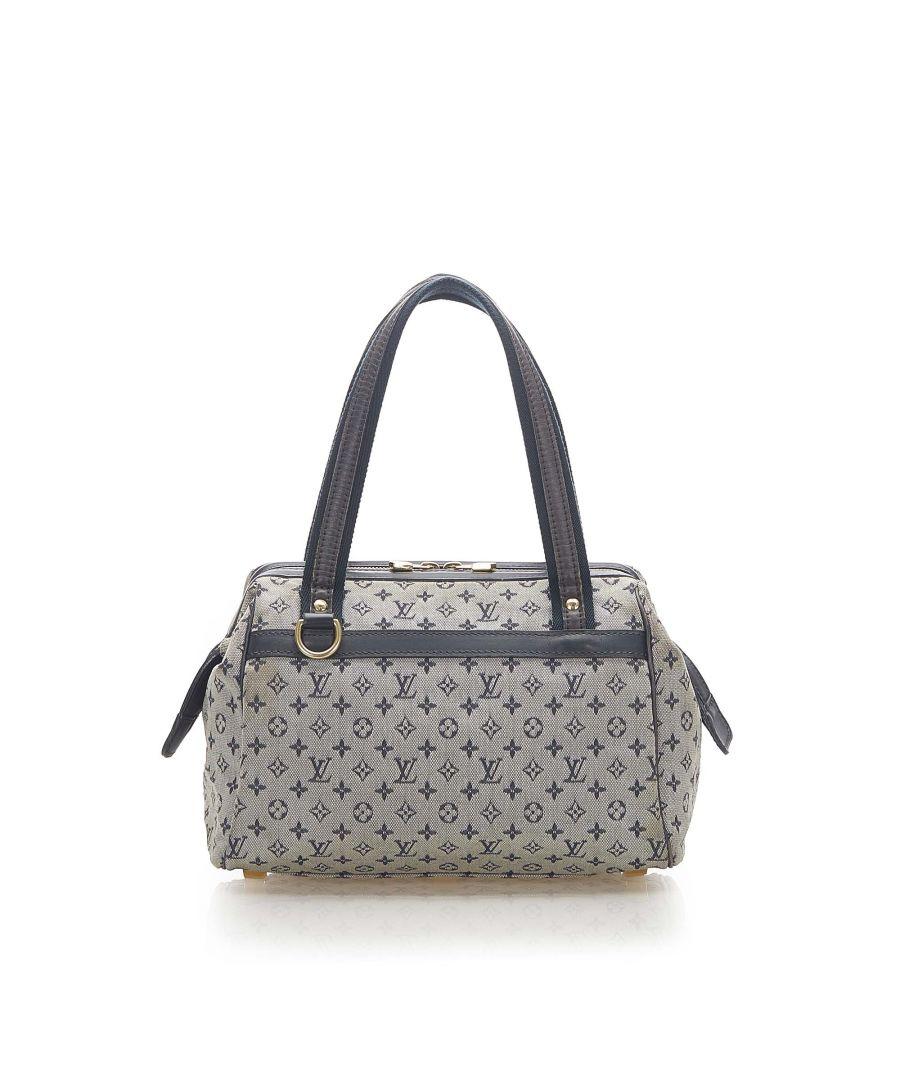 Image for Vintage Louis Vuitton Mini Lin Josephine PM Gray