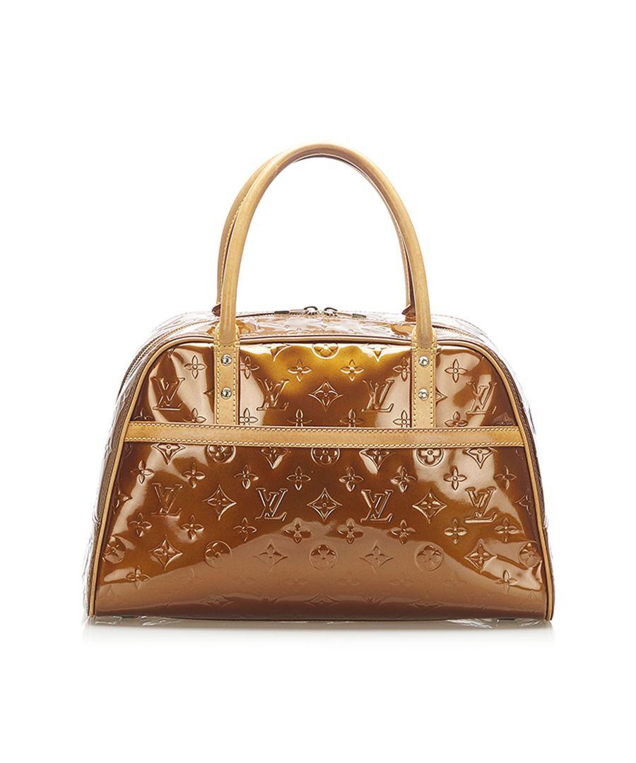 Image for Vintage Louis Vuitton Vernis Tompkins Square Brown