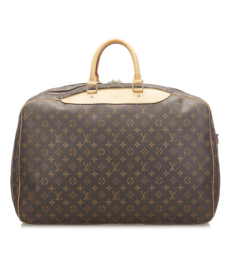 Image for Vintage Louis Vuitton Monogram Alize 2 Poches Brown