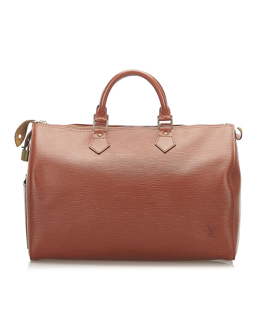 Image for Vintage Louis Vuitton Epi Speedy 40 Brown