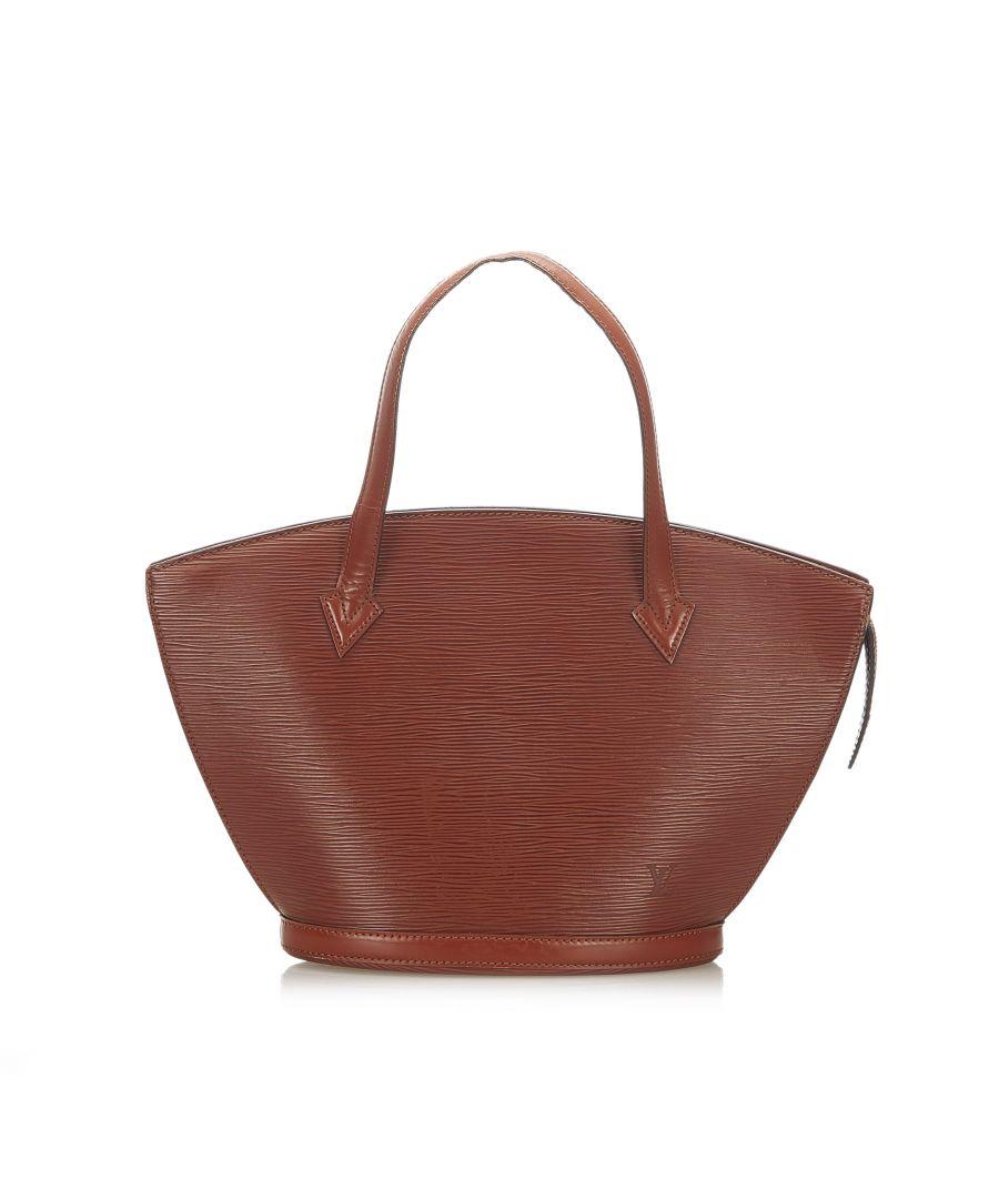 Image for Vintage Louis Vuitton Epi Saint Jacques PM Short Strap Brown