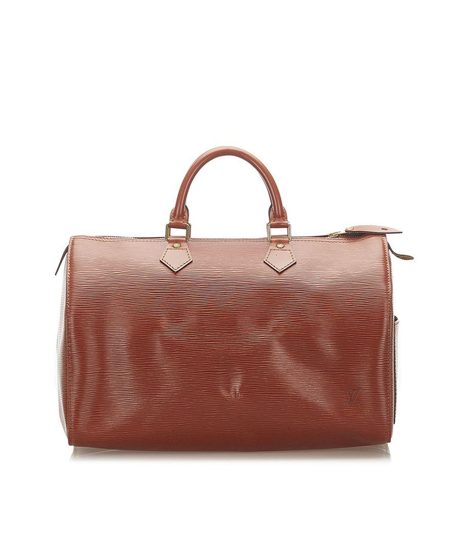 Image for Vintage Louis Vuitton Epi Speedy 35 Brown