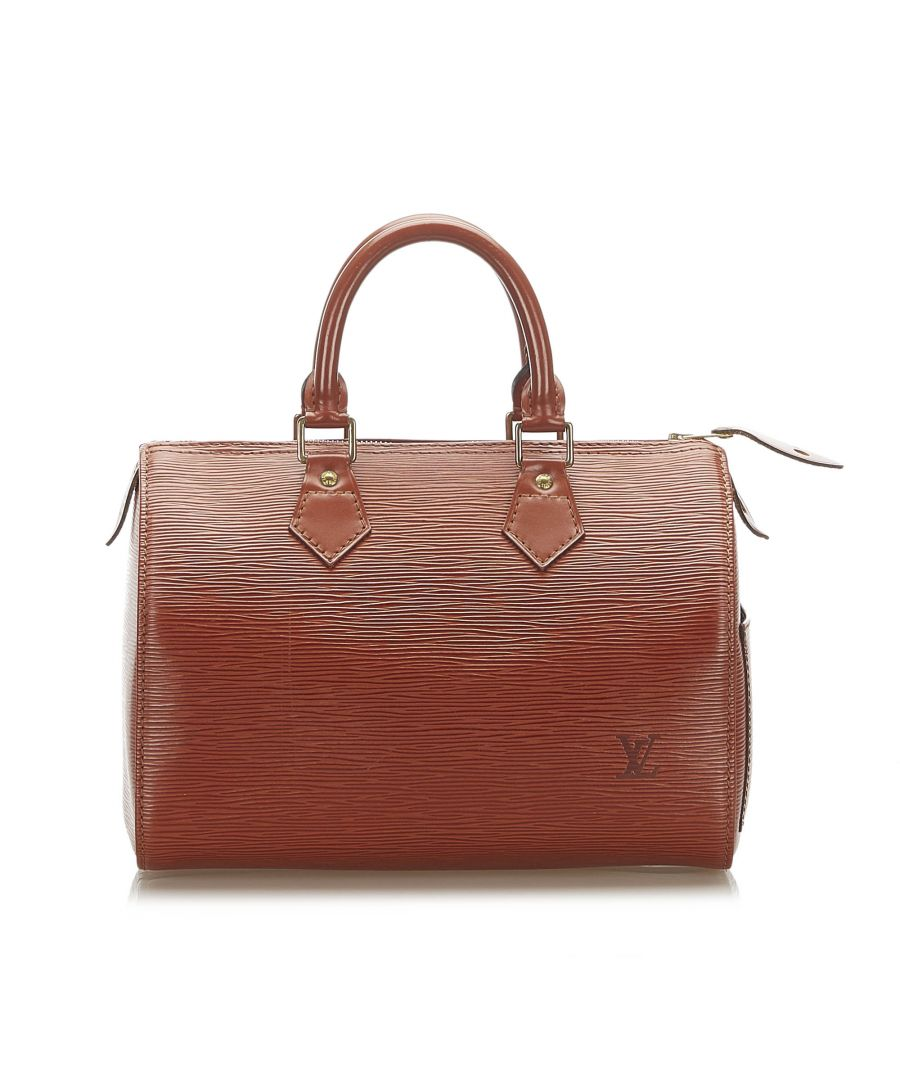 Image for Vintage Louis Vuitton Epi Speedy 25 Brown