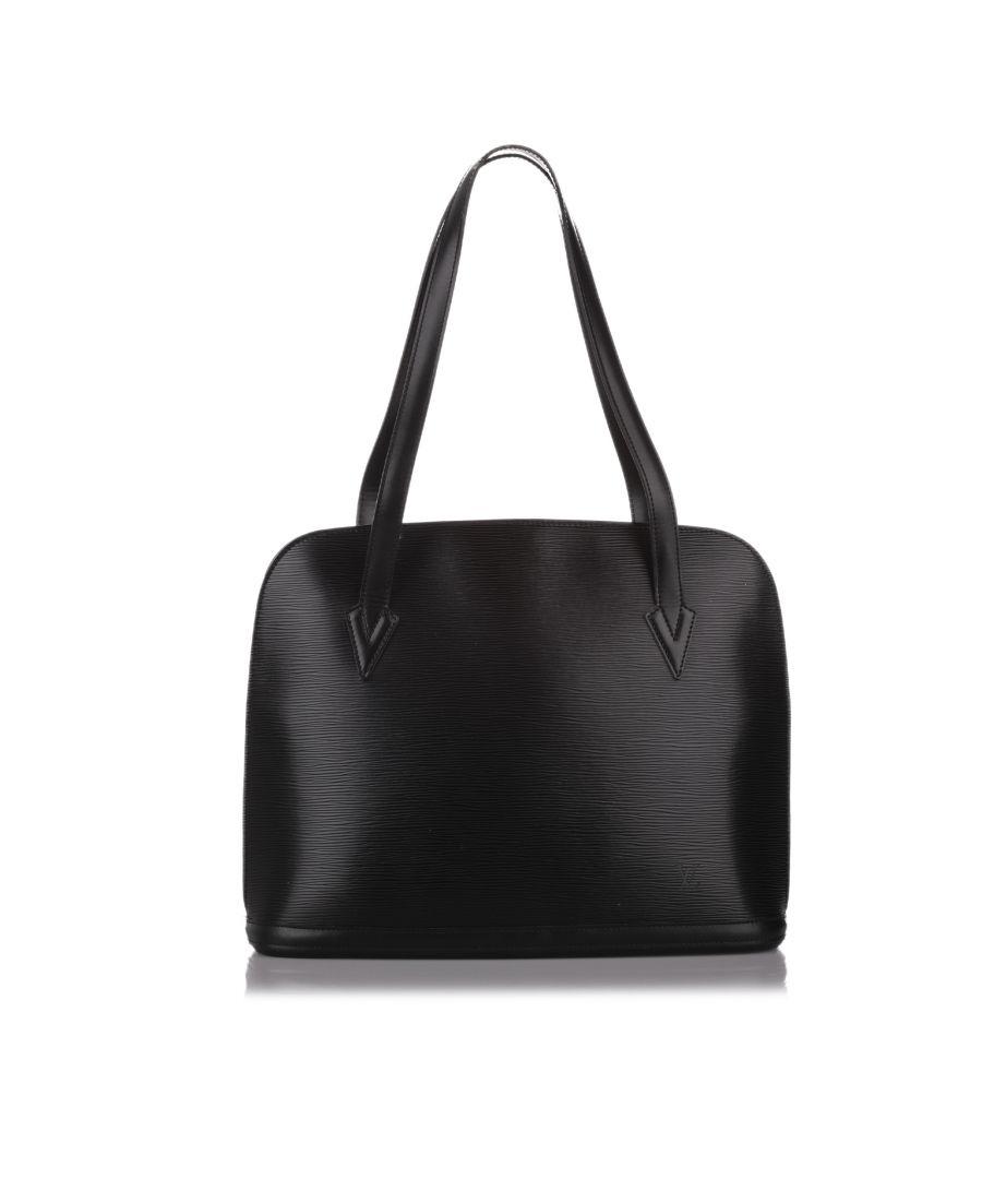 Image for Vintage Louis Vuitton Epi Lussac Black