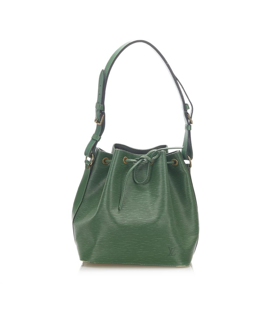 Image for Vintage Louis Vuitton Epi Petit Noe Green