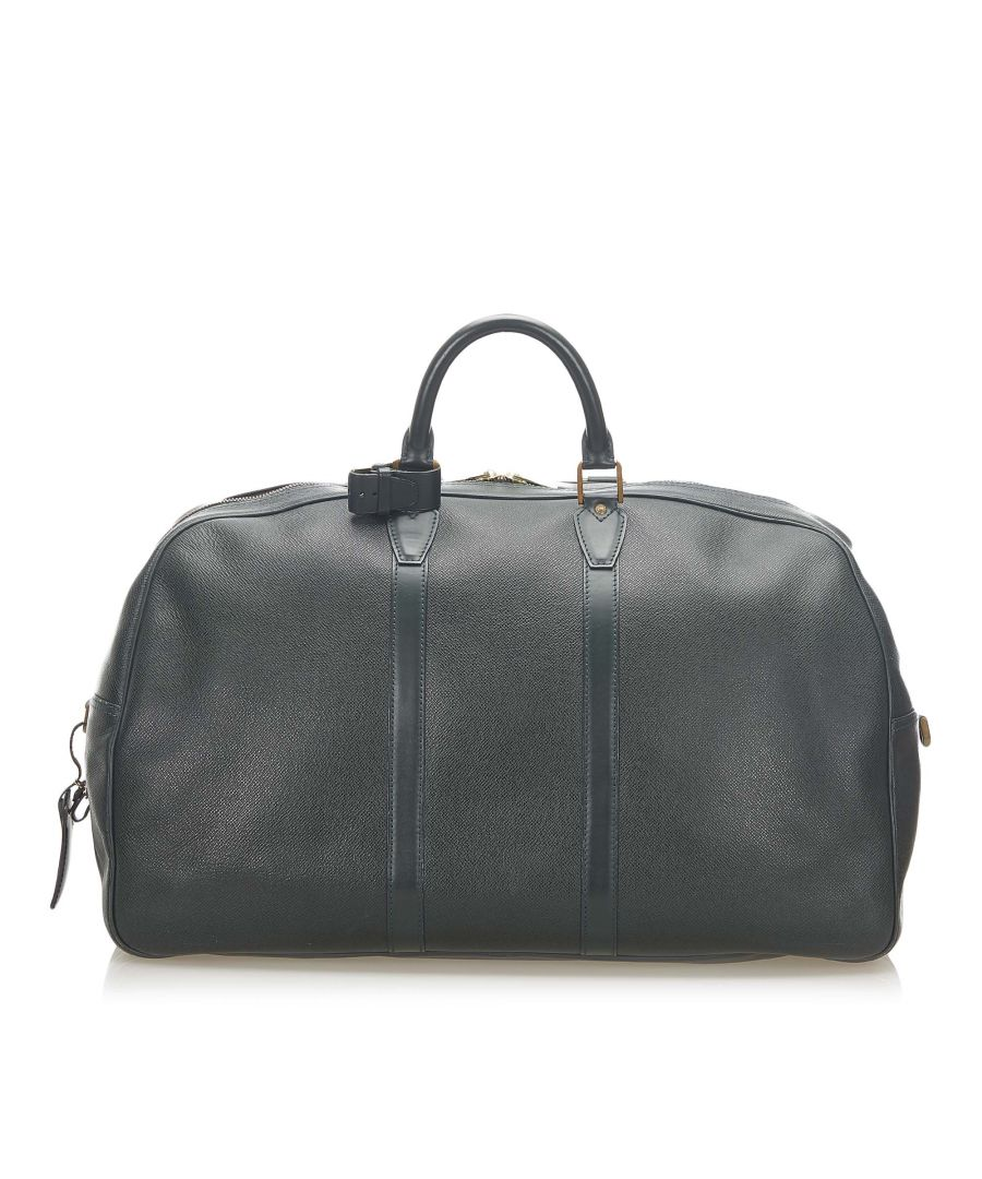 Image for Vintage Louis Vuitton Taiga Kendall GM Green