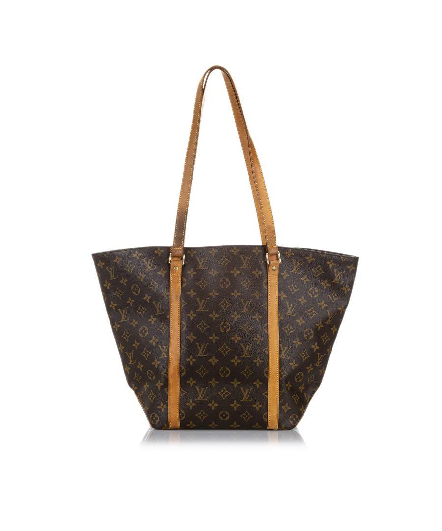 Image for Vintage Louis Vuitton Monogram Sac Shopping 48 Brown