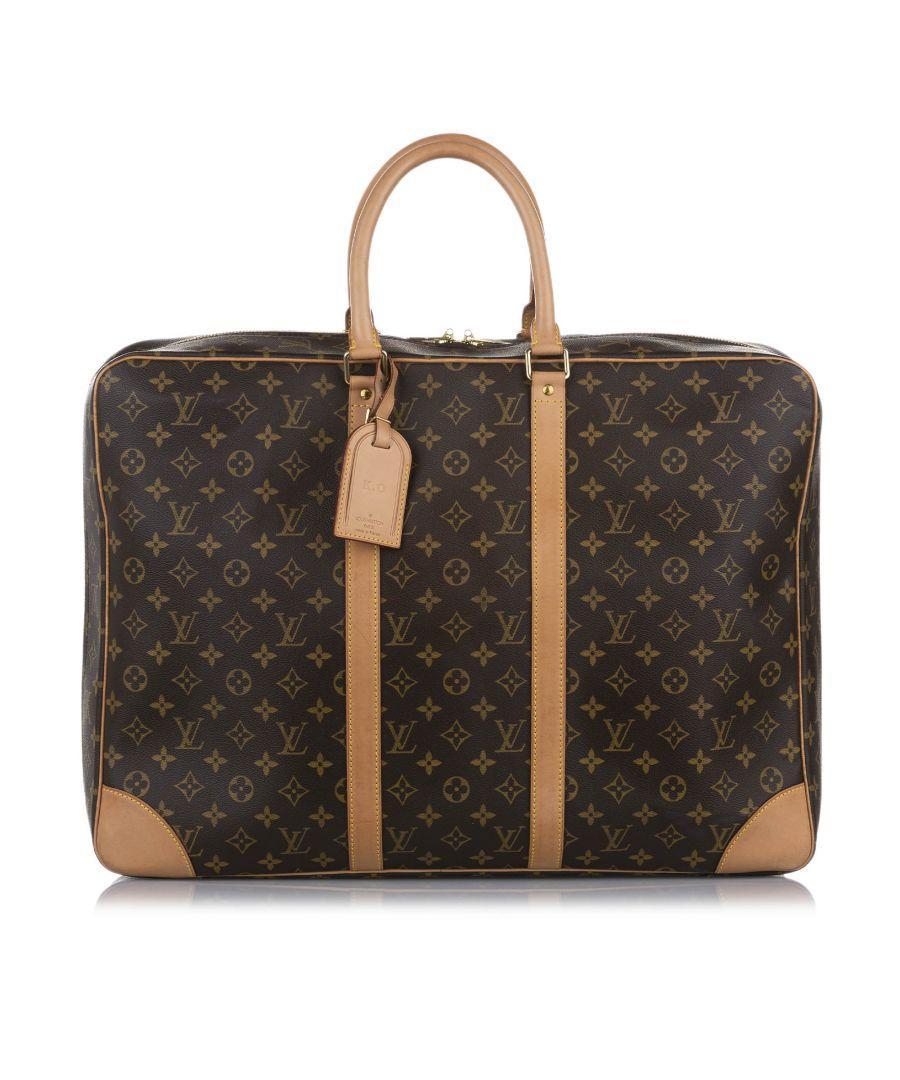 Image for Vintage Louis Vuitton Monogram Sirius 55 Brown