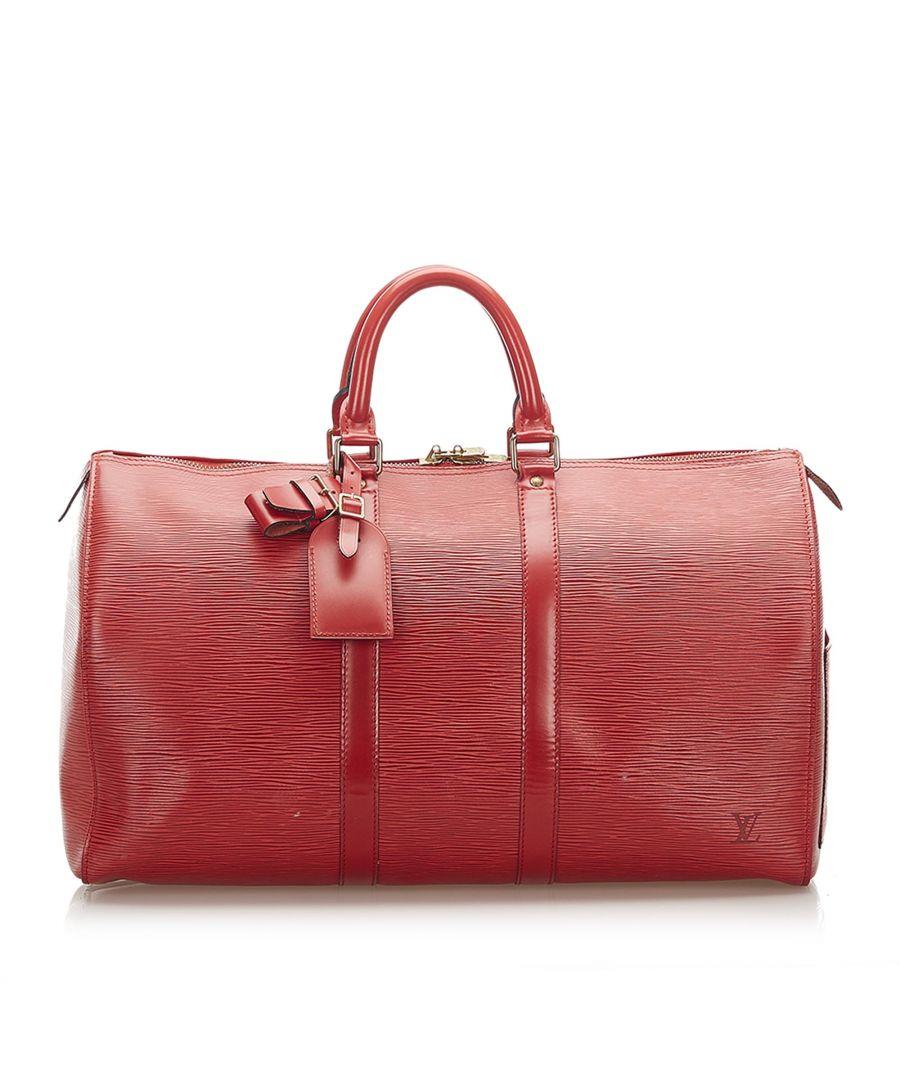 Image for Vintage Louis Vuitton Epi Keepall 45 Brown