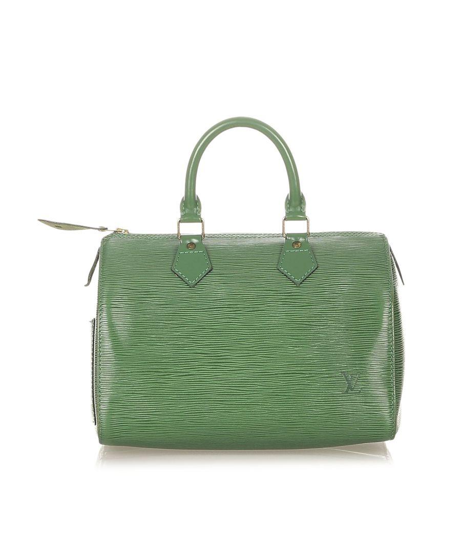 Image for Vintage Louis Vuitton Epi Speedy 35 Green