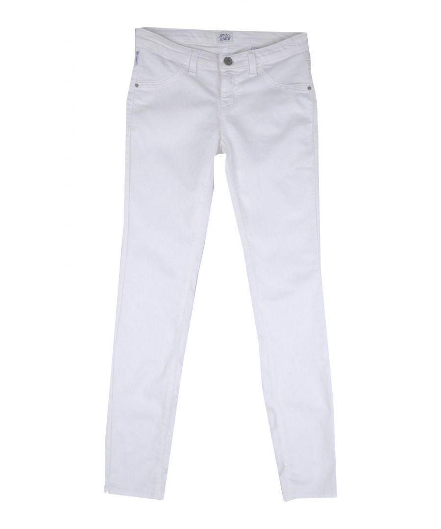 Image for Armani Junior Girl Denim trousers Cotton