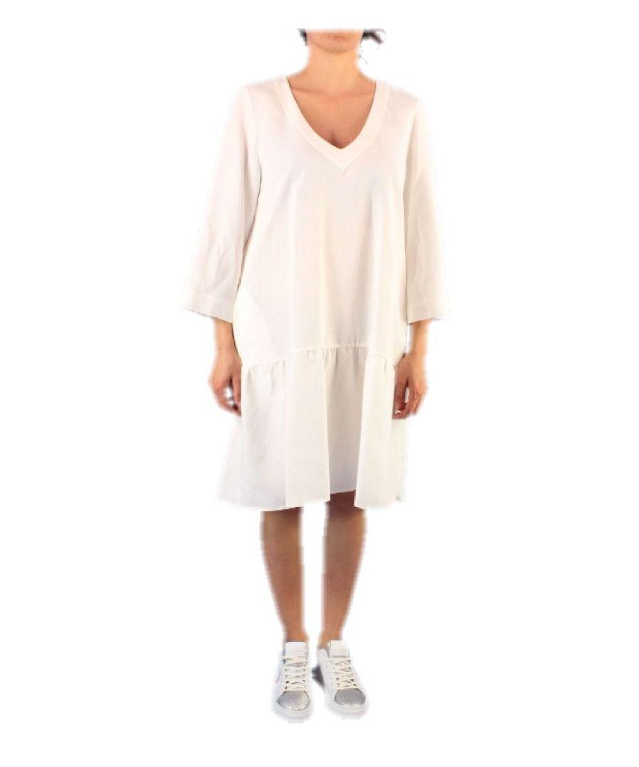 Image for ALTEA WOMEN'S 657028 WHITE VISCOSE DRESS