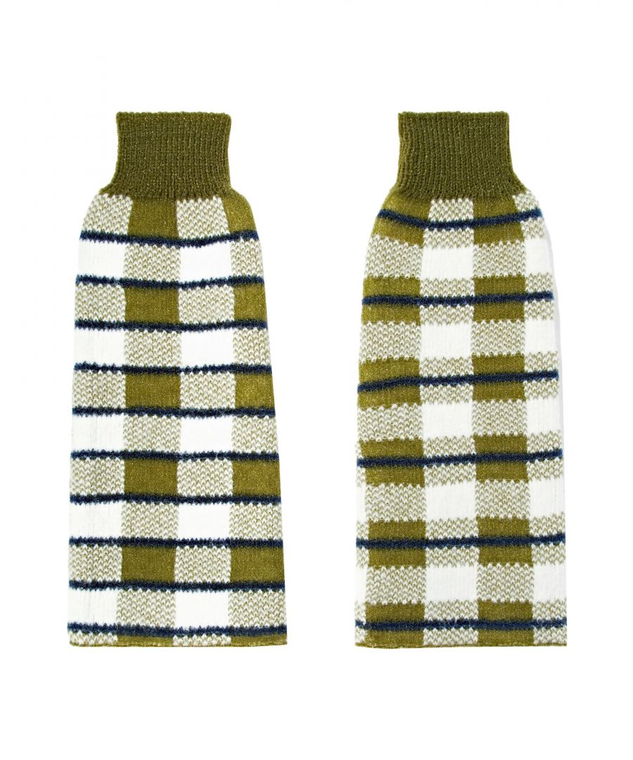 Image for Joseph Knit Pattern Arm Warmers
