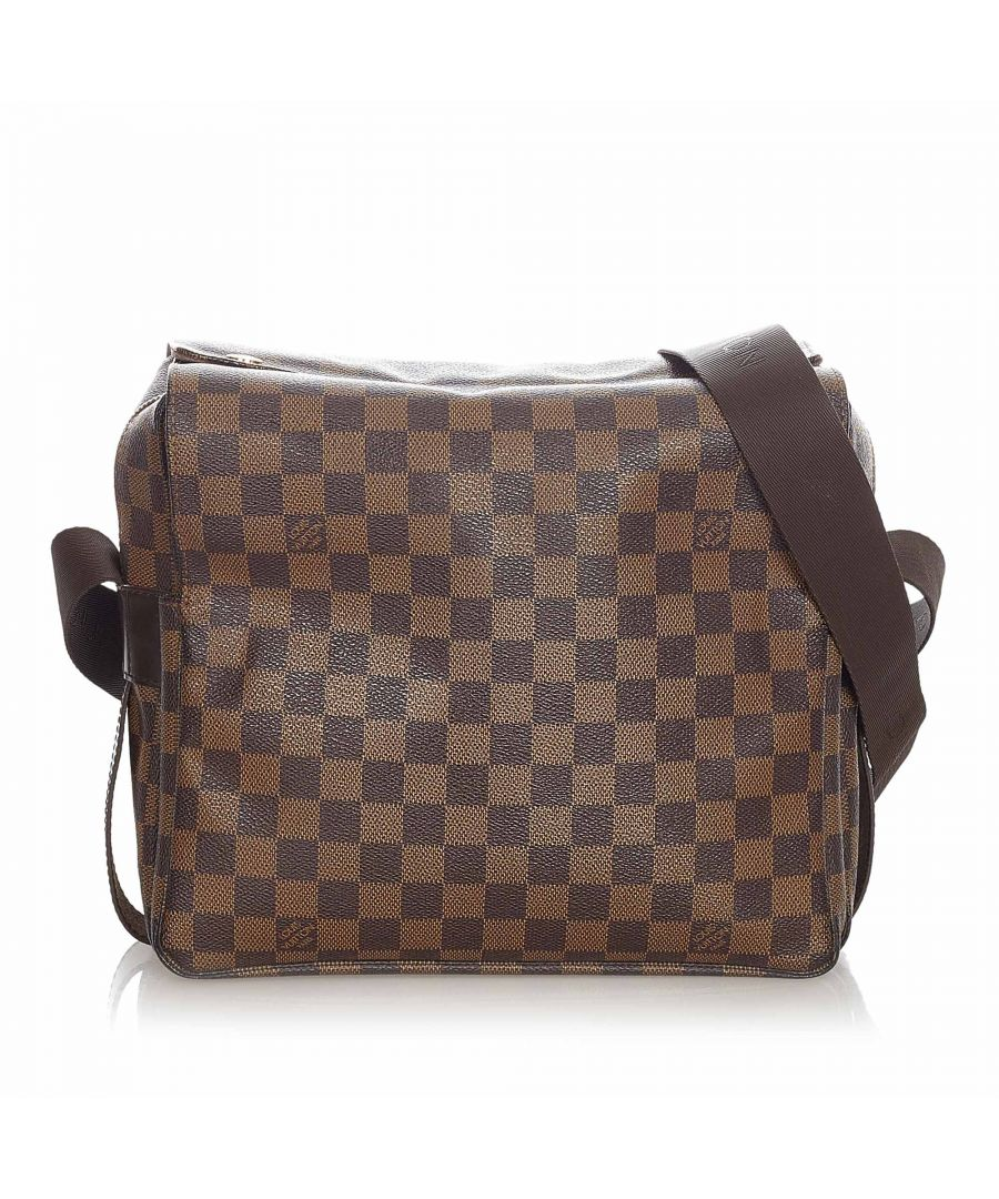 Image for Vintage Louis Vuitton Damier Ebene Naviglio Brown