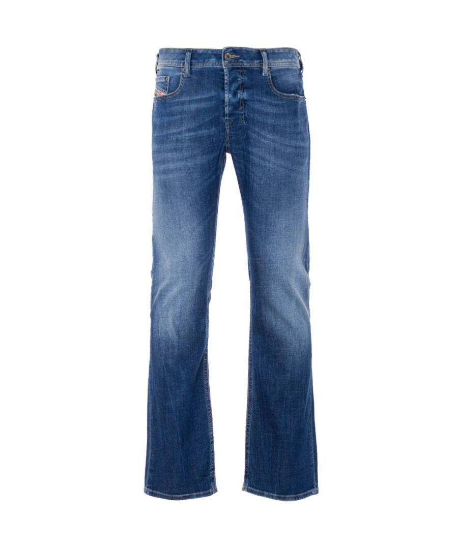 Image for Diesel Zatiny Bootcut Fit Jeans - Medium Blue