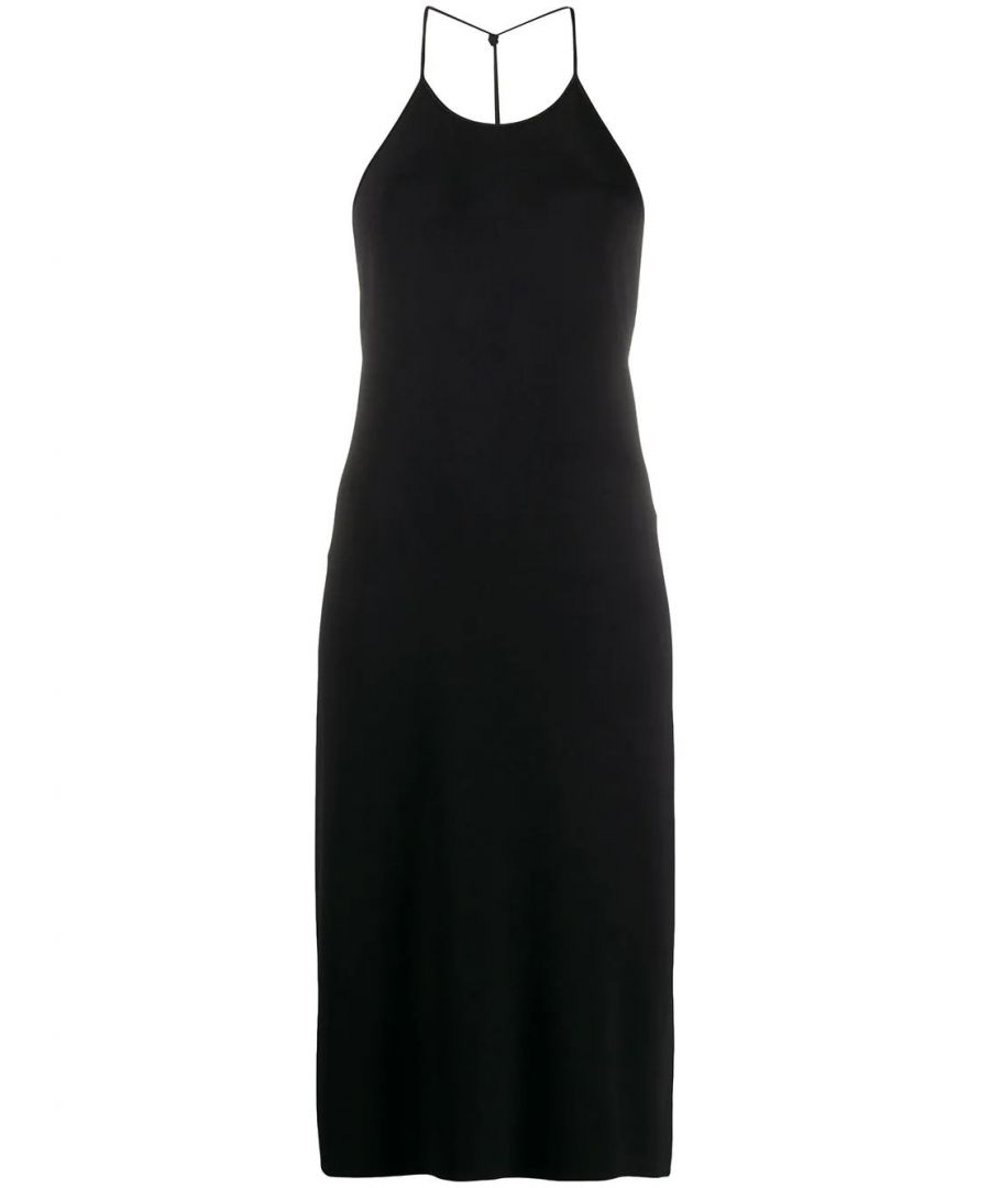 Image for BOTTEGA VENETA WOMEN'S 616993VKI601000 BLACK VISCOSE DRESS