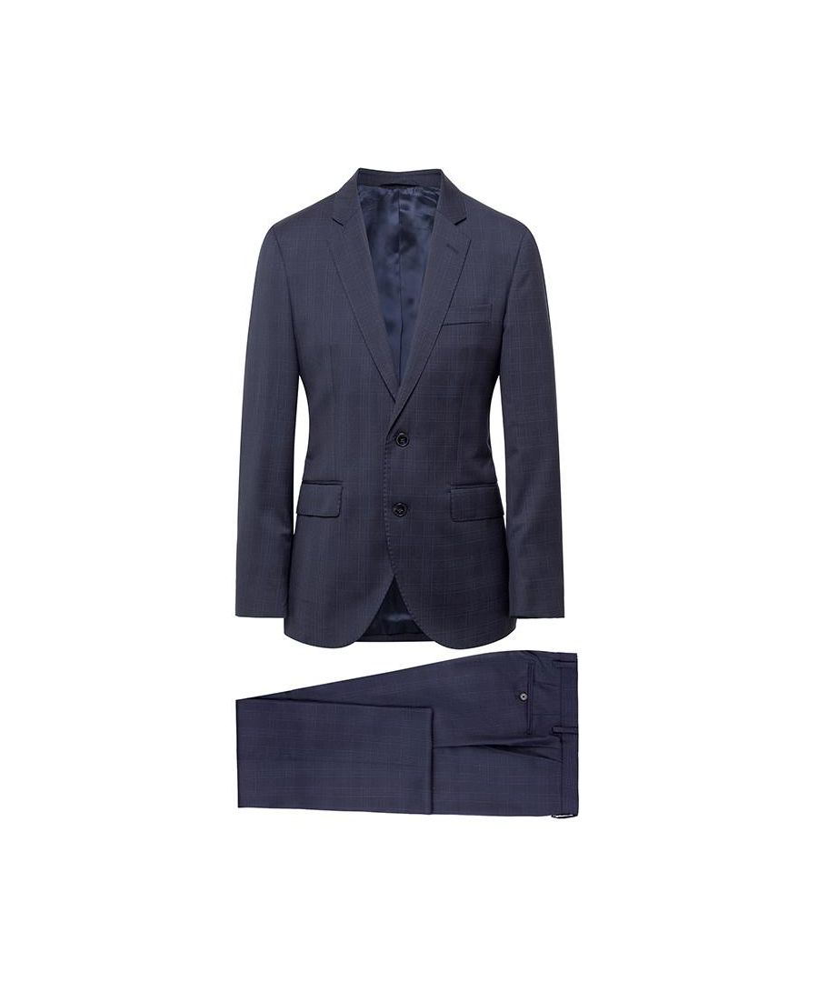 Image for Men's Hackett Classic Navy Check Suit