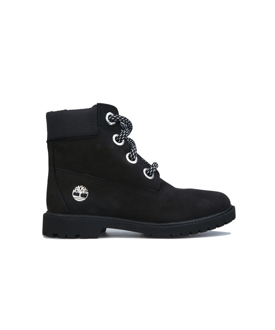 Image for Women's Timberland 6 Inch Convenience Lace Boots in Black
