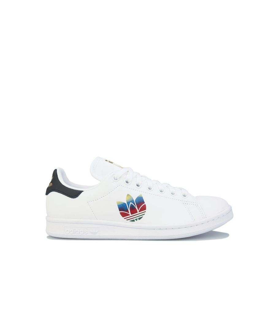 Image for Women's adidas Originals Stan Smith Trainers in White Black
