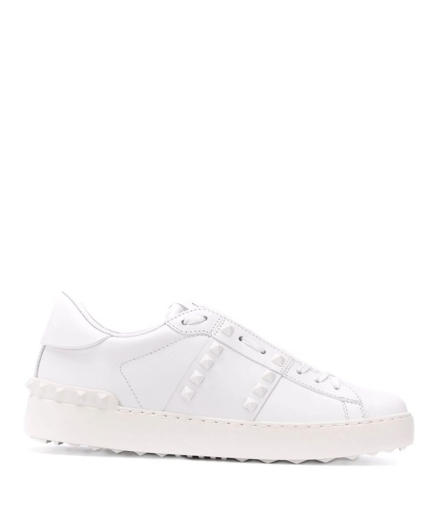 Image for VALENTINO WOMEN'S TW2S0A01YEK0BO WHITE LEATHER SNEAKERS
