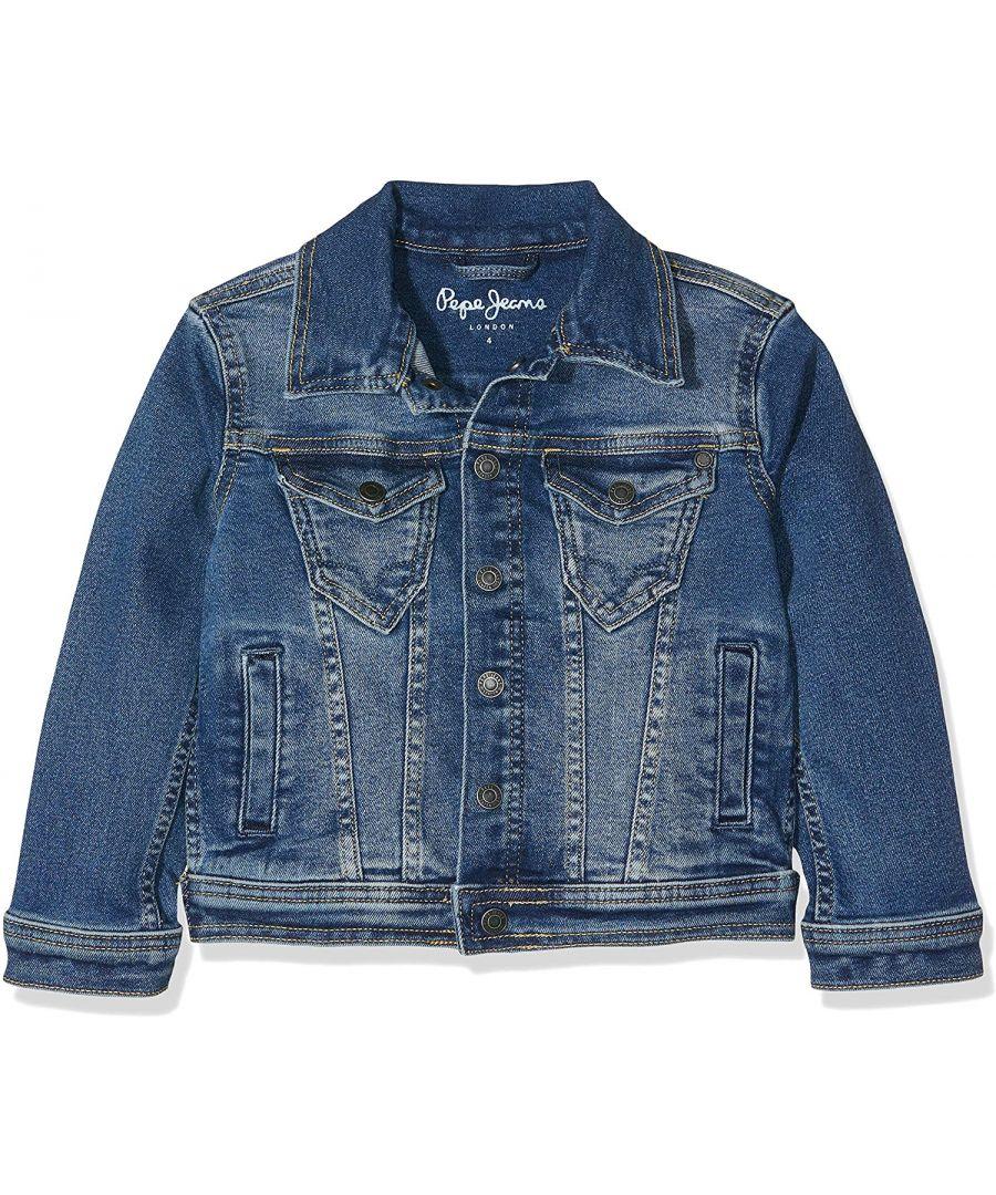 Image for Pepe Jeans Boys Legendary Denim Jacket in Blue
