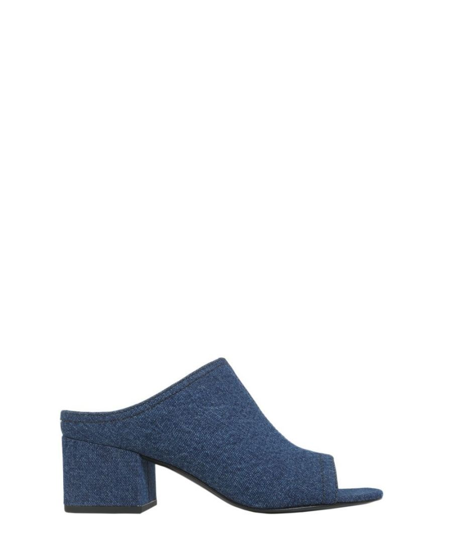 Image for 3.1 PHILLIP LIM WOMEN'S SHE6T190WDELI420 BLUE COTTON SANDALS