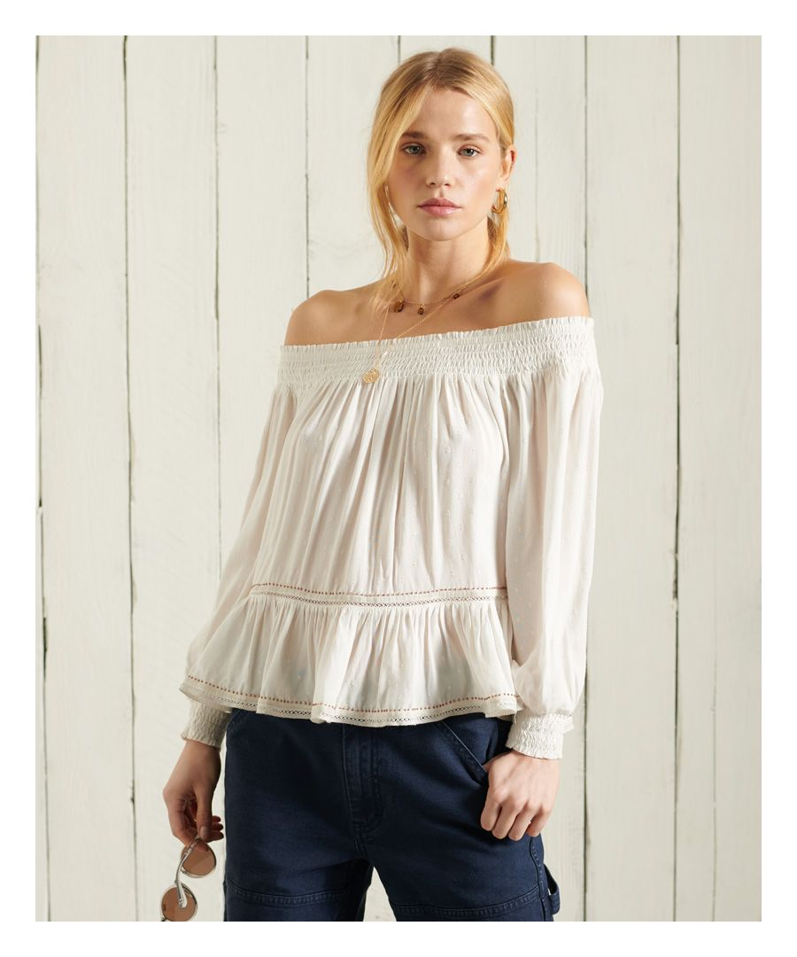 Image for Superdry Ameera Off The Shoulder Top