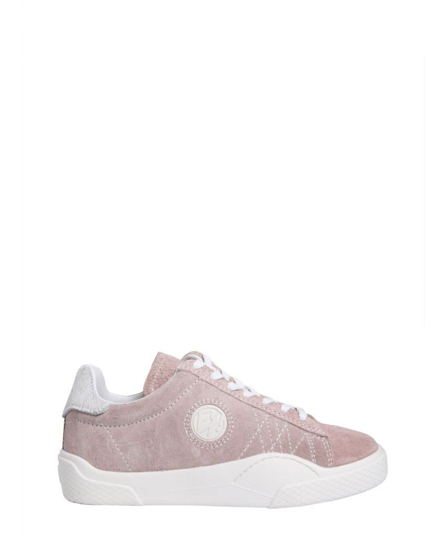Image for EYTYS WOMEN'S WSPP015 PINK LEATHER SNEAKERS