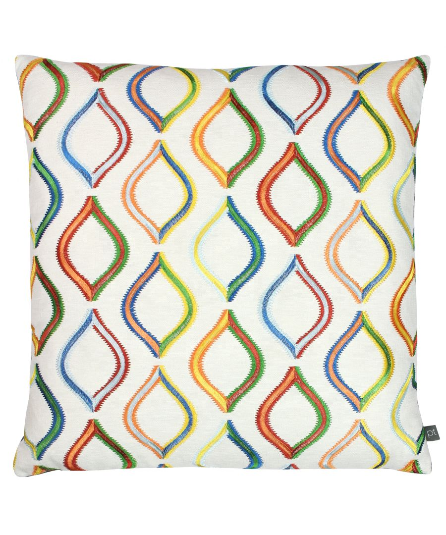 Image for Prestigious Textiles Spinning Top Polyester Filled Cushion, Polyester, Acrylic, Jungle