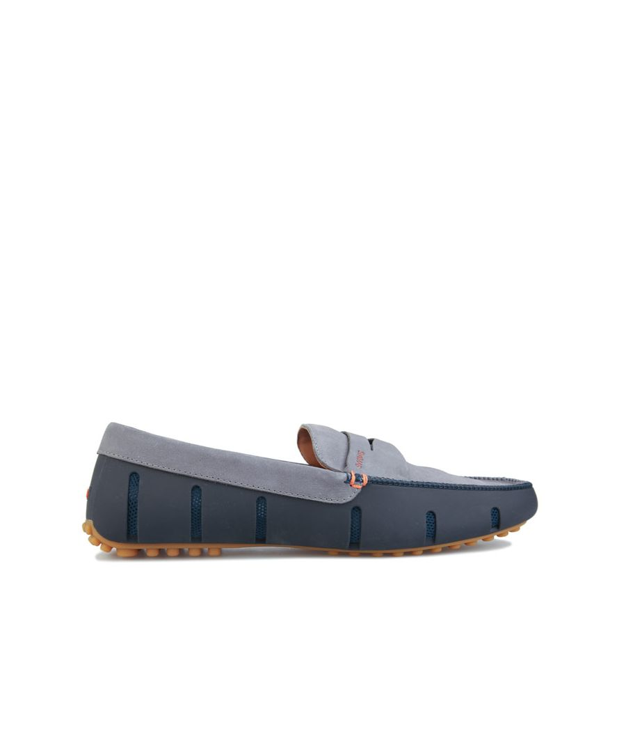 Image for Men's Swims Penny Lux Loafer in Navy Grey