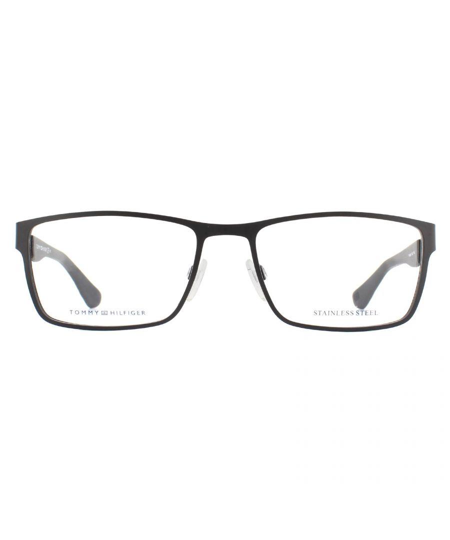 Image for Tommy Hilfiger Glasses Frames TH 1543 003 Matte Black