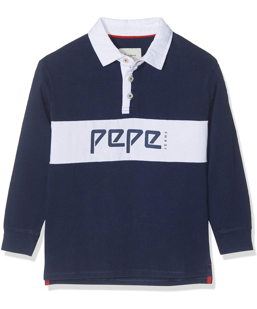 Image for Pepe Jeans Boys Polo Shirt in Navy