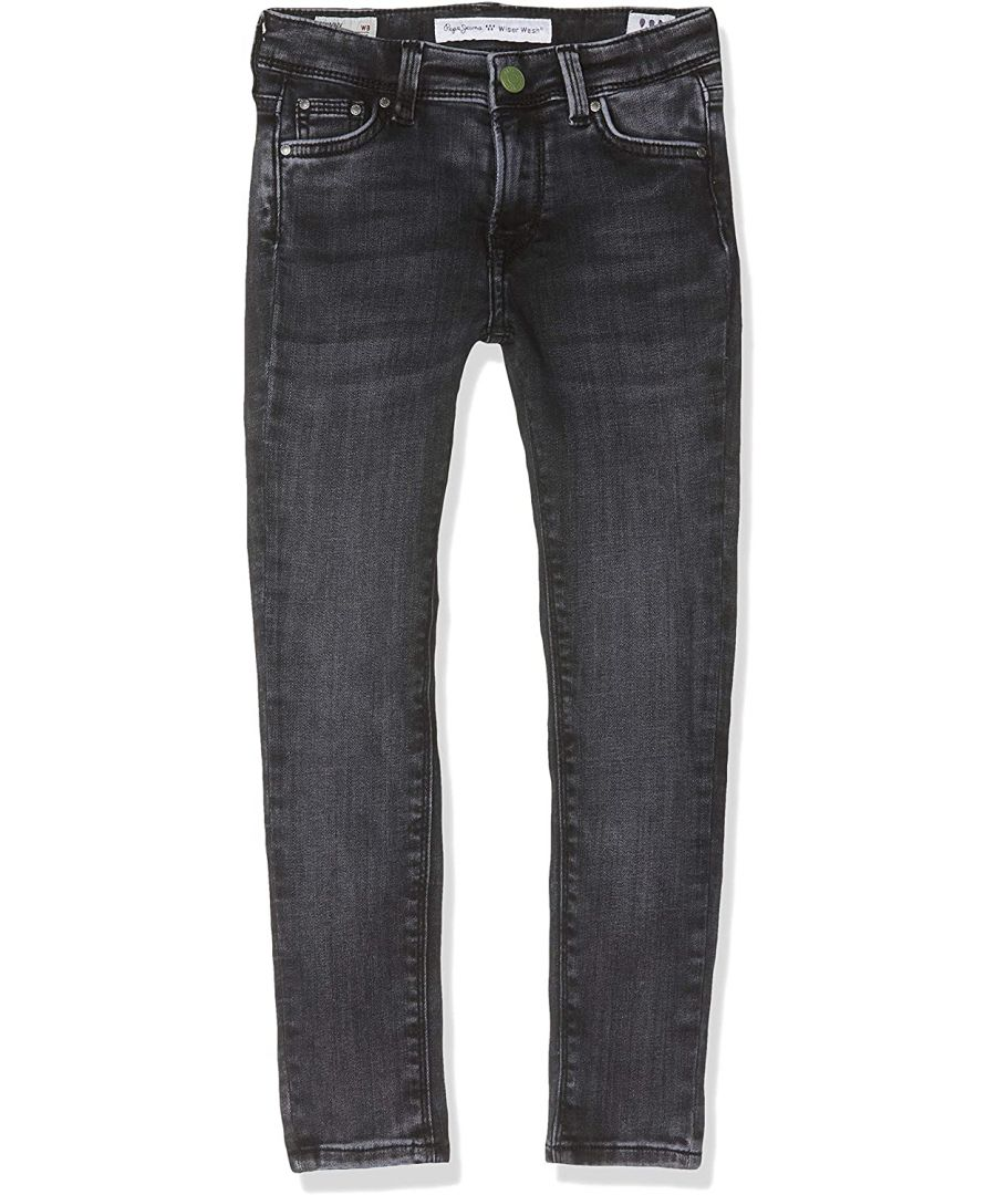 Image for Pepe Jeans Girls Skinny Jeans in Grey