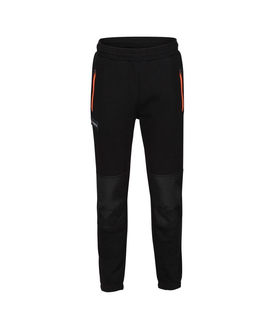 Image for Regatta Mens Jeopardize Jogging Bottoms (Black)