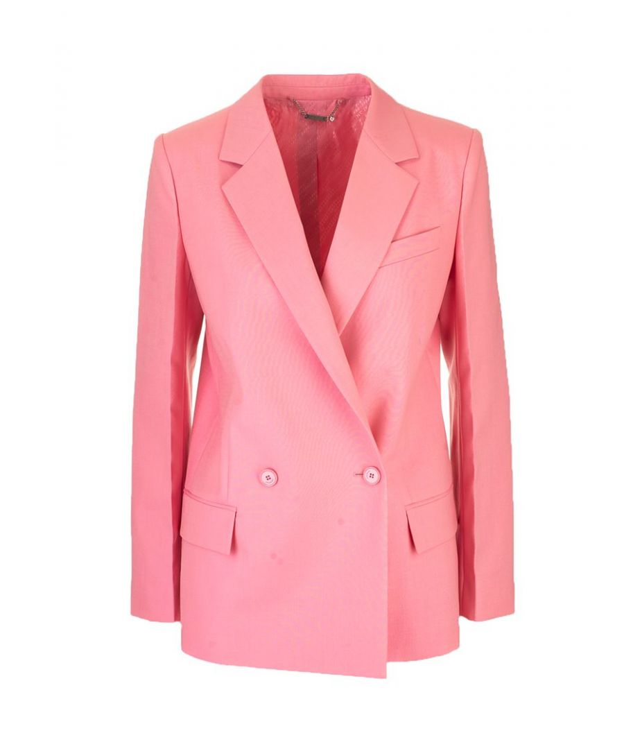 Image for GIVENCHY WOMEN'S BW309R12JF672 PINK WOOL BLAZER