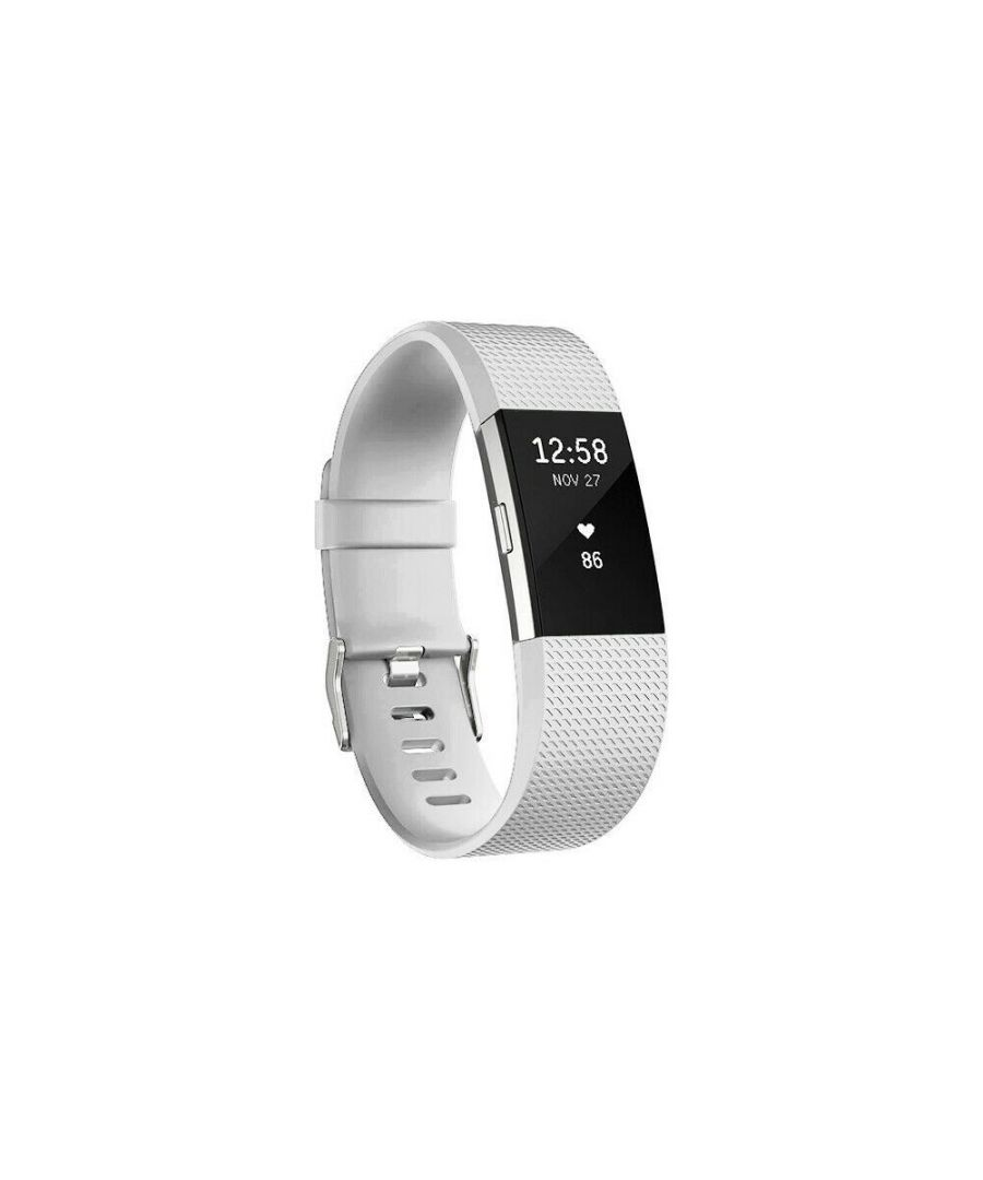 Image for Aquarius Fitbit Charge 2 Classic Replacement Straps White