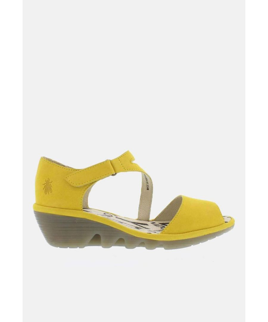 Image for Fly London Pona Yellow Cupido