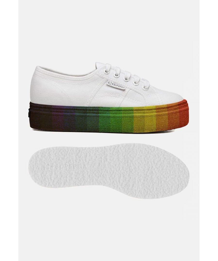Image for Superga 2790 Cot W Multicolour Glitter White Multicolour