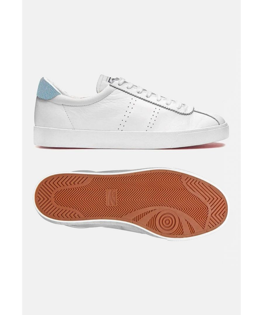 Image for Superga 2843 Club S Comf Leather Iridescent Snake White Snake